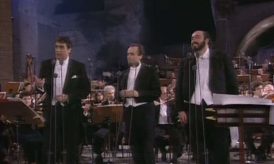 Nessun Dorma by the Three Tenors