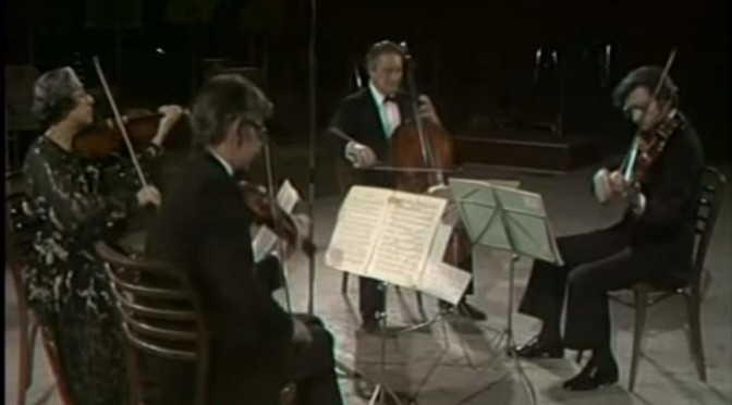 Quartetto Italiano plays Franz Schubert's String Quartet No. 14 in D minor