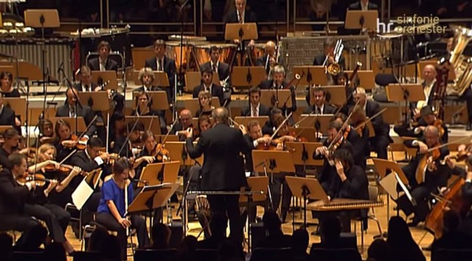 hr-Sinfonieorchester performs Fazıl Say's Istanbul Symphony