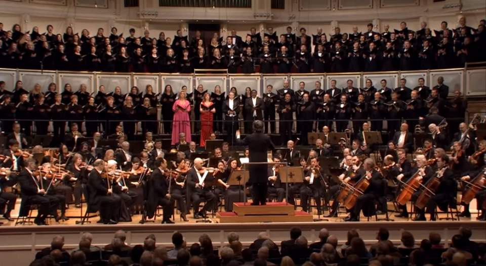 Chicago Symphony performs Beethoven's -Symphony No. 9