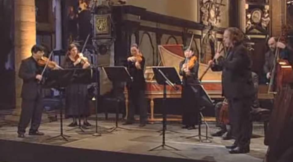 Il Gardellino performs Johann Sebastian Bach's Concerto for Violin and Oboe in c minor, BWV 1060R
