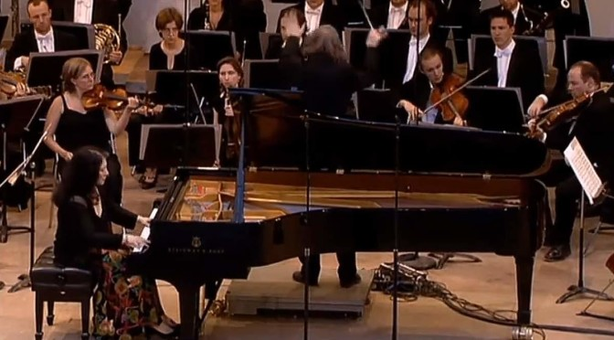 Martha Argerich performs Prokofiev Piano Concerto No. 1