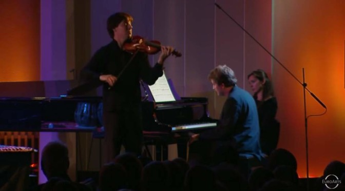 Bell and Coch perform Ravel's Tzigane