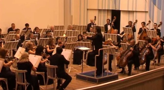 Kislovodsk Philharmonic Orchestra performs Bizet - Symphony in C Major