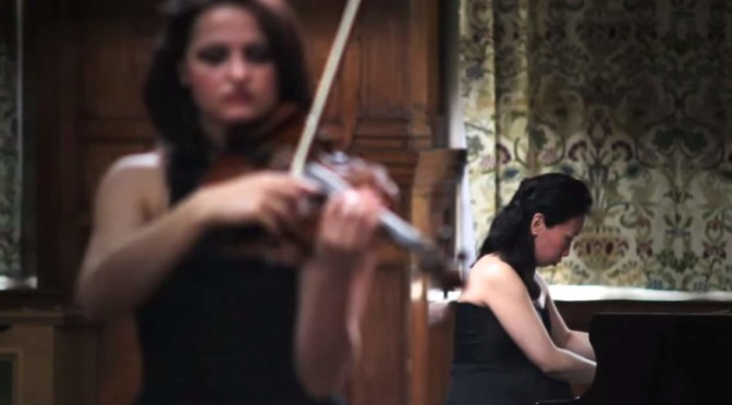Lana Trotovšek and Yoko Misumi perform Fratres
