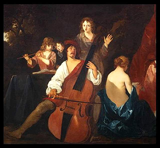 Violon (Peter Lely, 1640)