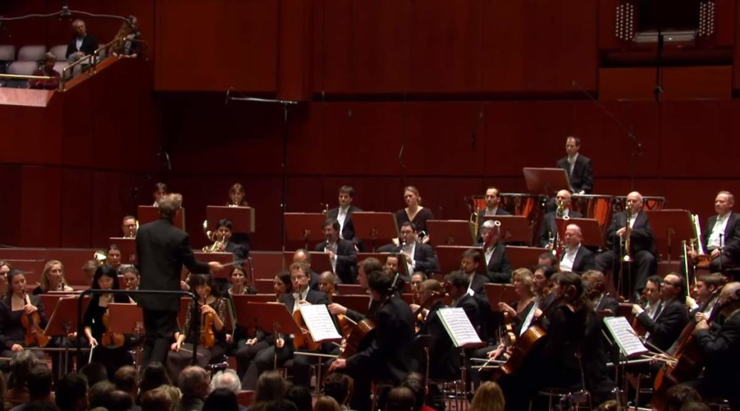 hr-Sinfonieorchester performs Jean Sibelius' Symphony No. 5