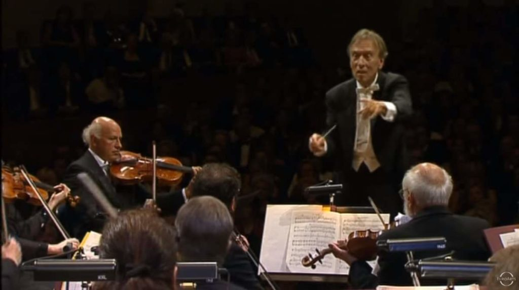 Claudio Abbado and Lucerne Festival Orchestra performs Debussy - La Mer