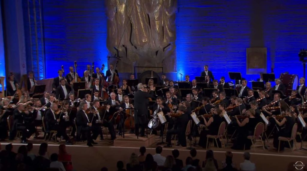 Saint Petersburg Philharmonic Orchestra performs Scheherazade