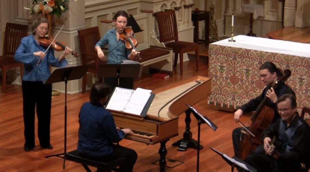 Voices of Music plays Tarquinio Merula's Ciaccona