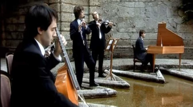 Il Giardino Armonico performs Paris Quartets No. 12