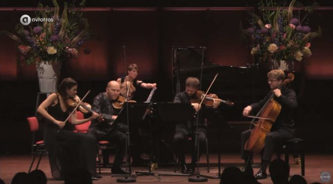 Janine Jansen and Friends perform Bartók - Piano Quintet in C