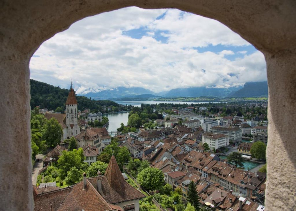 Thun, view from the castle (2012)