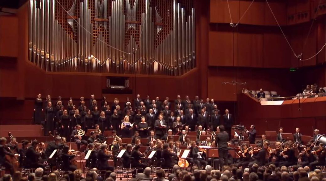 hr-Sinfonieorchester and MDR Rundfunkchor perform Beethoven's Symphony No. 9