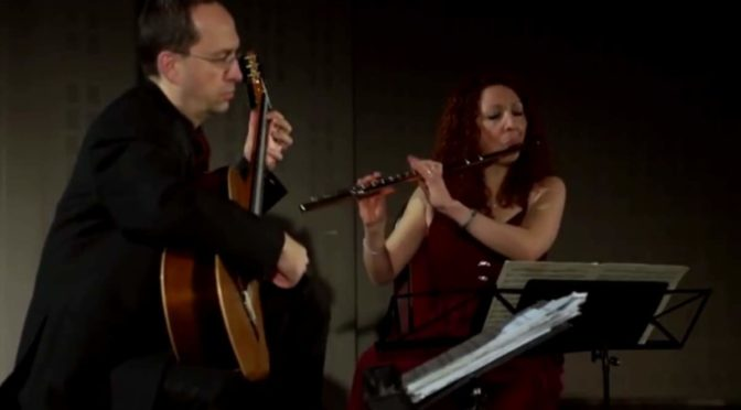 Cavatina Duo plays Bach BWV 1035