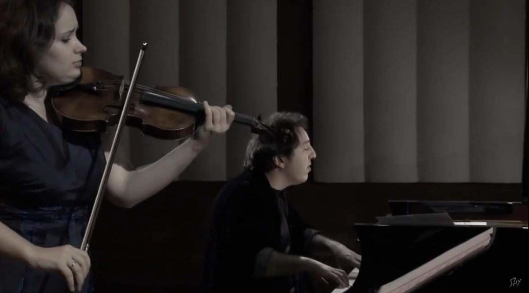 Patricia Kopatchinskaja and Fazıl Say perform Schubert's Violin Sonata in A minor, D. 385