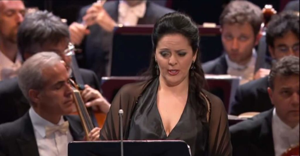 Maria Agresta at BBC Proms 2013