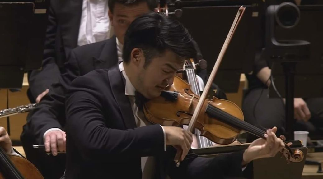 Ray Chen performs Sibelius Violin Concerto