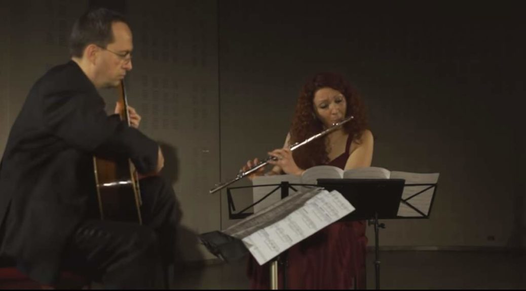 Cavatino Duo plays Gerard Drozd - Adagio Op. 44e