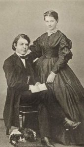 Joseph Joachim and Amalie Weiss