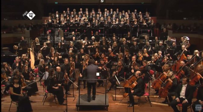 Netherlands Radio Philharmonic and Dutch Radio Choir performs Rachmaninoff - The Bells