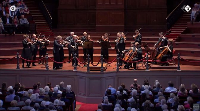 Concertgebouw Kamerorkest performs Tchaikovsky's Serenade for Strings