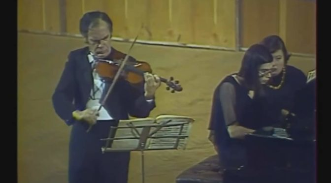 eonid Kogan, and his daughter Nina Kogan perform Ludwig van Beethoven's Violin Sonata No. 9