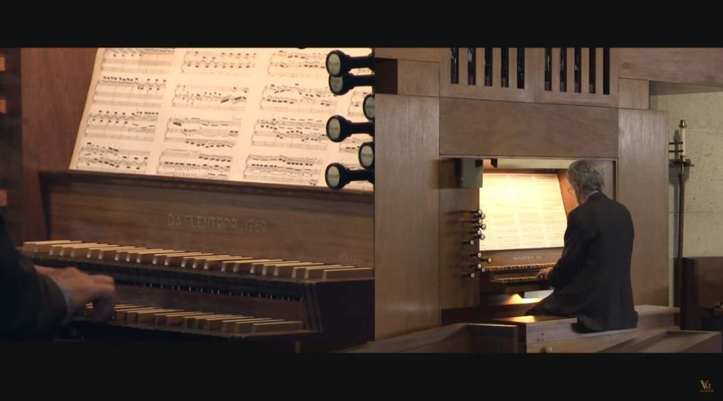 Rodney Gehrke performs Johann Sebastian Bach's Toccata and Fugue in D minor