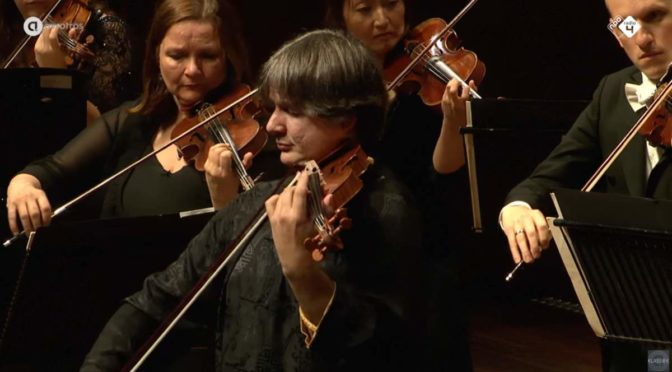 Liviu Prunaru performs Felix Mendelssohn's Concerto for Violin and String Orchestra