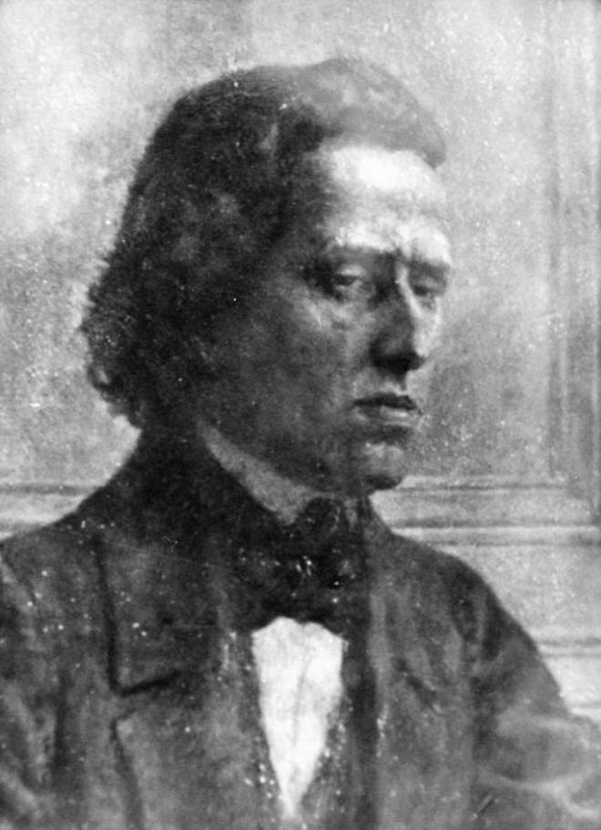 Frédéric Chopin's new photographic portrait