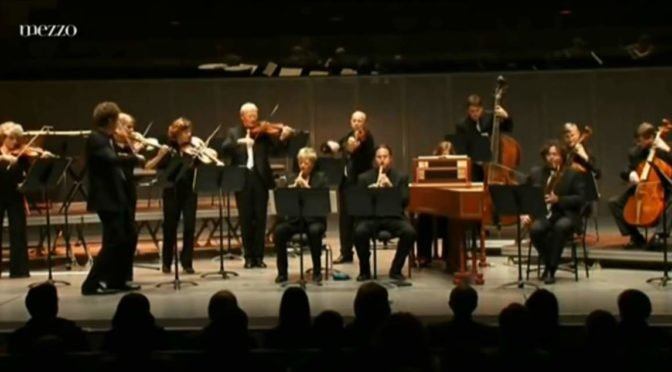 Freiburger Barockorchester performs Bach - Orchestral Suites