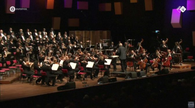 Radio Kamer Filharmonie (Netherlands Radio Chamber Philharmonic) and Groot Omroepkoor (Netherlands Radio Choir) perform Ludwig van Beethoven's Symphony No. 9