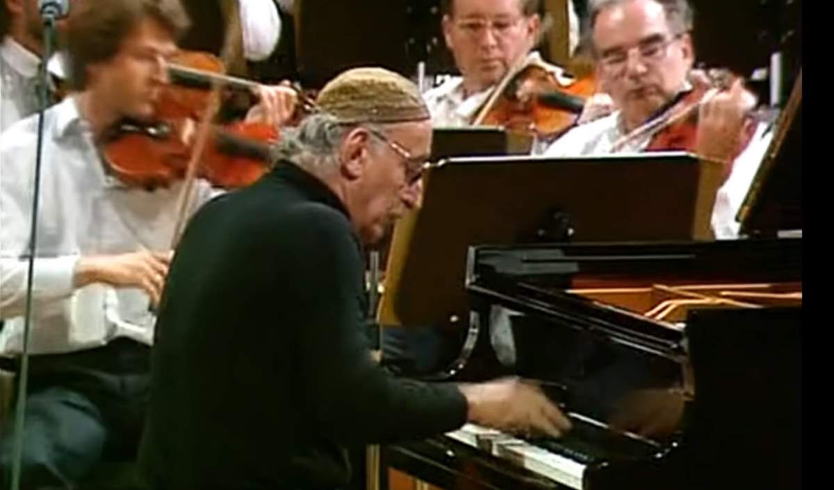 Friedrich Gulda performs Mozart's Piano Concerto No. 20