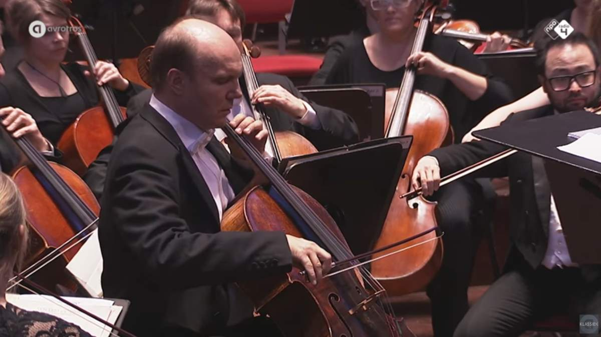 Truls Mørk performs Edgar's Cello Concerto