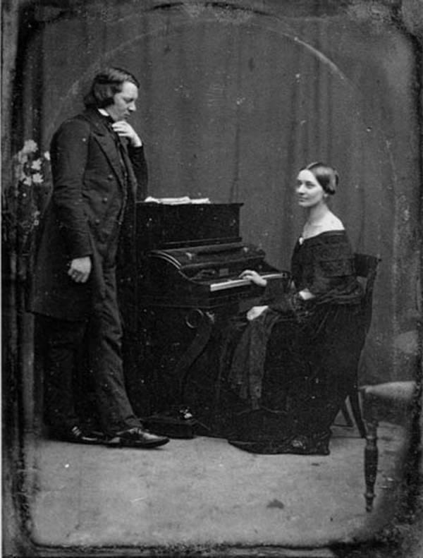 Clara and Robert Schumann