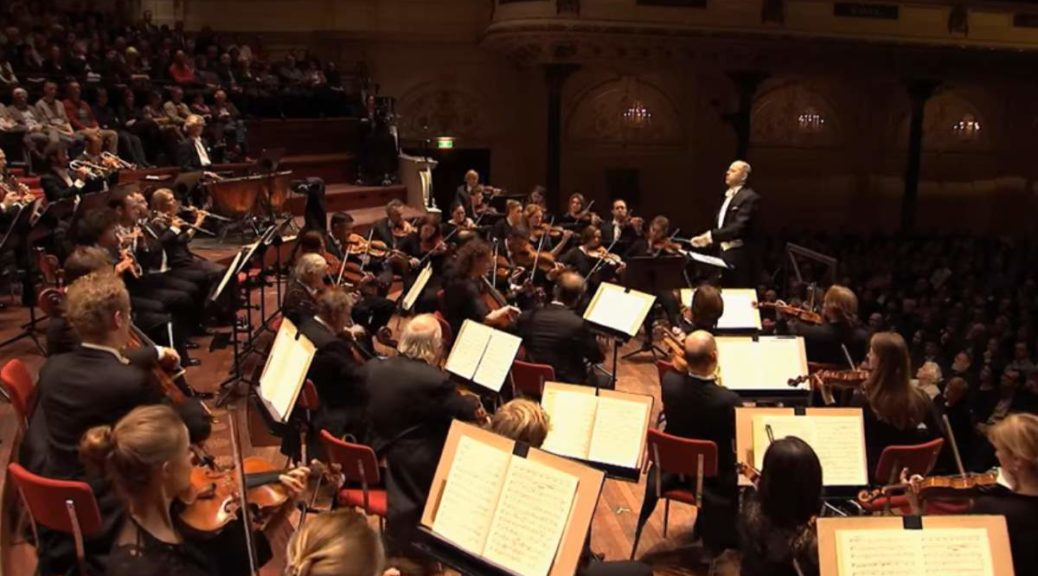 Royal Concertgebouw Orchestra performs Beethoven's Symphony No. 7