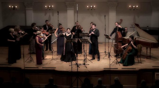 Croatian Baroque Ensemble performs Georg Philipp Telemann's Concerto for Recorder and Flute