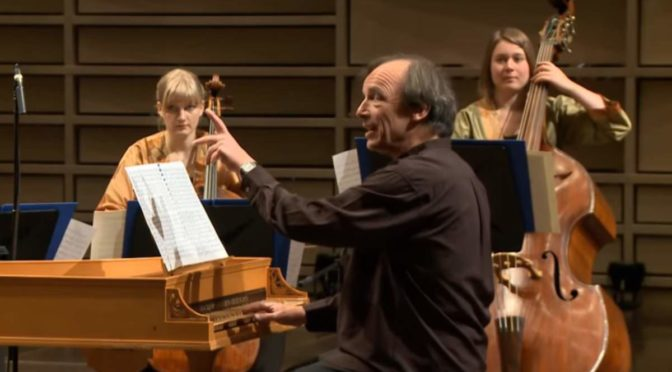 European Baroque Orchestra performs Bach - Brandenburg Concerto No. 3