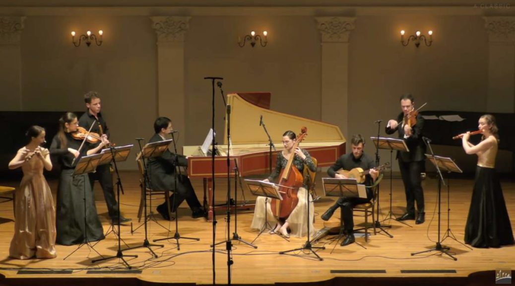 Croatian Baroque Ensemble performs Marin Marais
