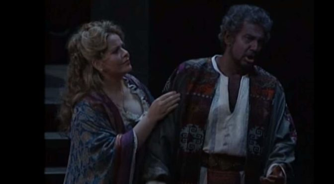 Fleming and Domingo perform Love Duet from Act I of Verdi's Otello