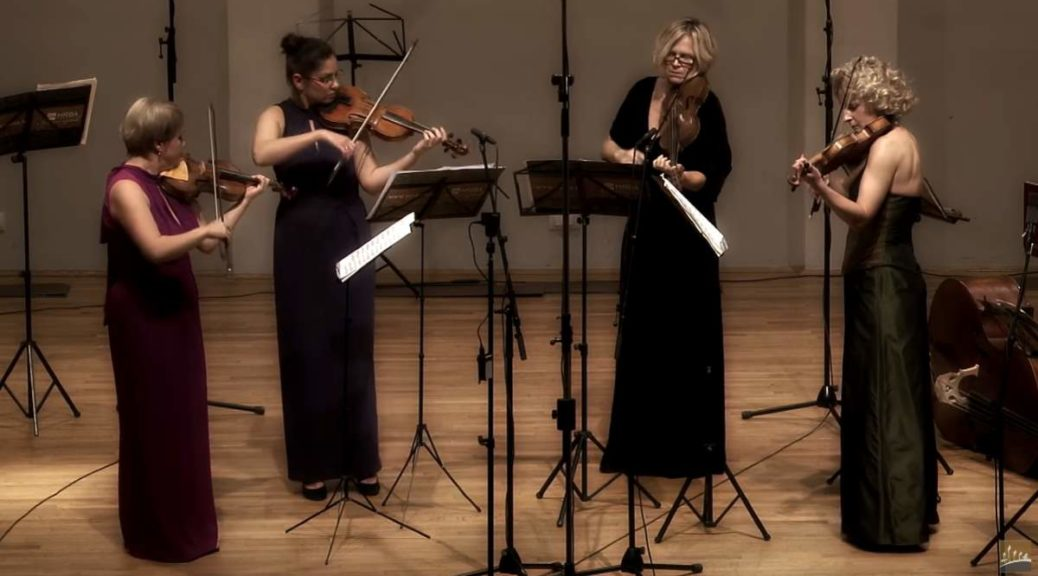 Croatian Baroque Ensemble performs Georg Philipp Telemann's Concertos for Four Violins No. 2