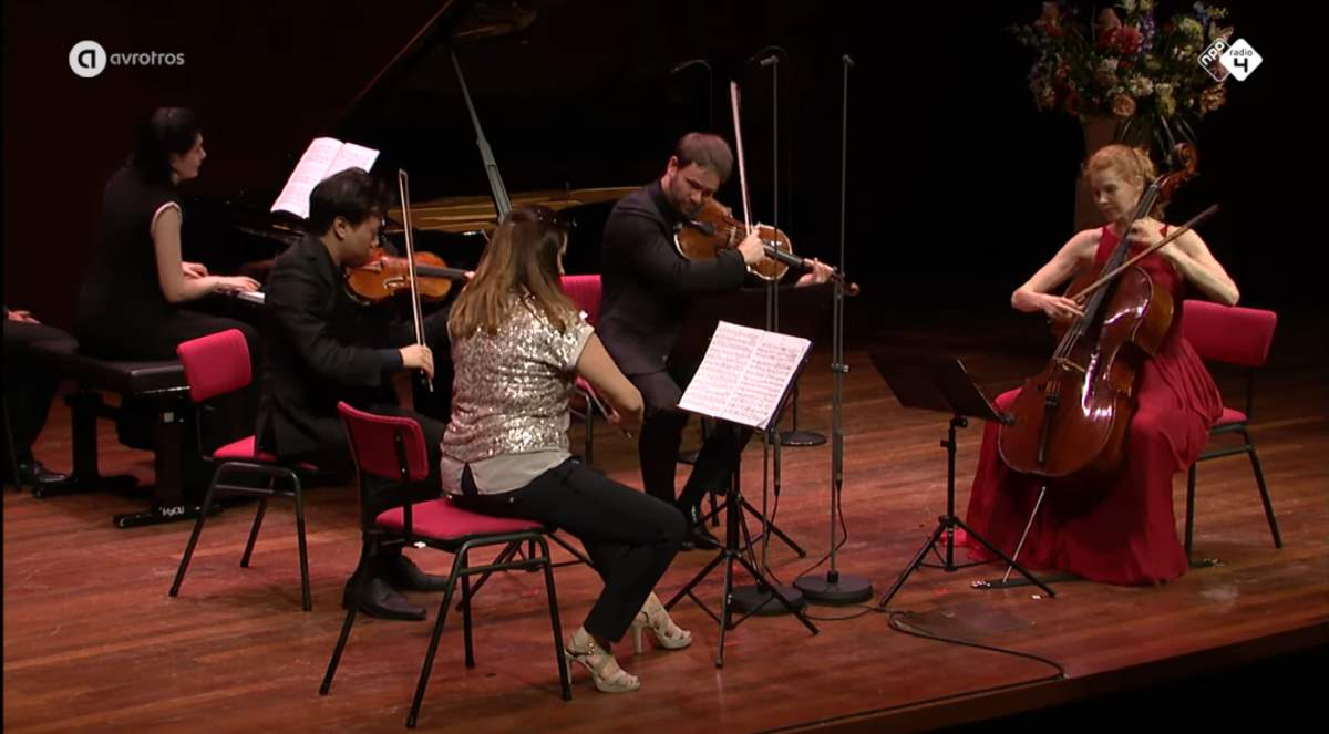 Harriet Krijgh and Friends play Piano Quintet No. 2
