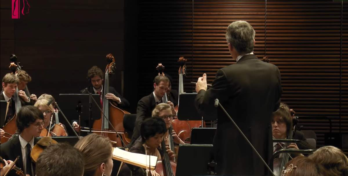 The Orchestra of the University of Music FRANZ LISZT Weimar performs Béla Bartók's Concerto For Orchestra