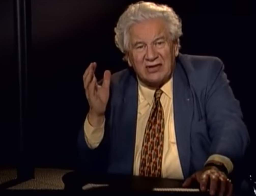 Sir Peter Ustinov is narrating The Marriage of Figaro.