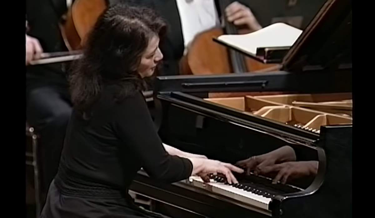 Martha Argerich performs Frédéric Chopin's Piano Concerto No. 1