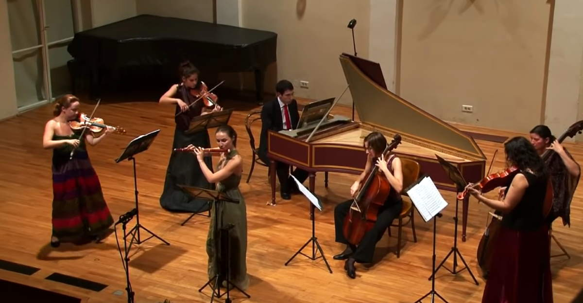 "Croatian Baroque Orchestra performs ""Badinerie"